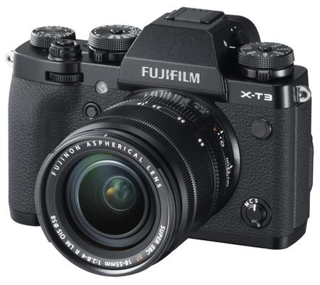Fujifilm X-T3 Kit 18-55mm f/2.8-4 R LM OIS Black