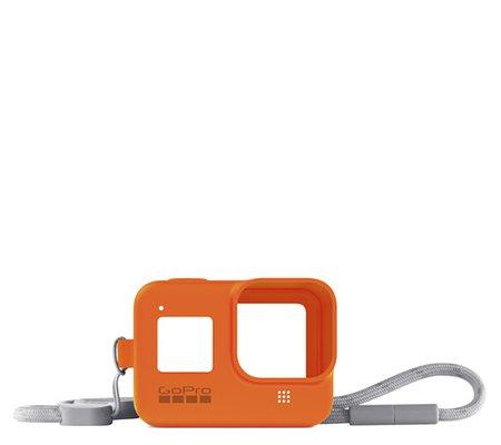GoPro Sleeve + Lanyard For Hero 8 Hyper Orange