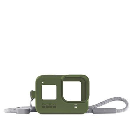 GoPro Sleeve + Lanyard For Hero 8 Turtle Green