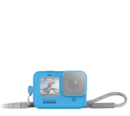 GoPro Sleeve + Lanyard For GoPro Hero 9 Blue (ADSST-003)
