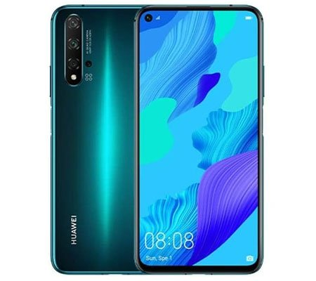 Huawei Nova 5T Crush Green