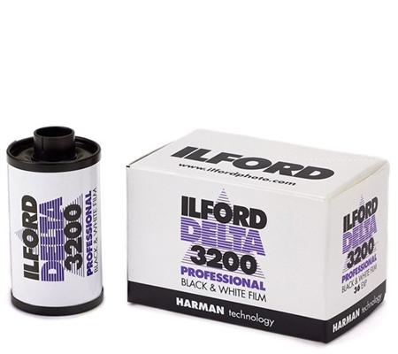 Ilford Delta 3200 Professional 135 ASA 3200 BW 36Exp Roll Film