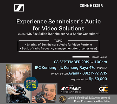 Experience Sennheiser's Audio for Video Solutions