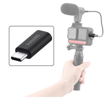 Insta360 ONE R Microphone Adapter 3.5mm TRS