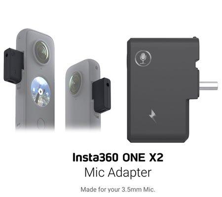 Insta360 ONE X2 Mic Adapter