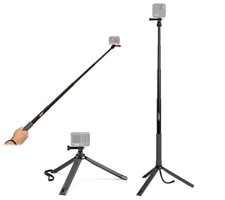 Joby TelePod Sport Mini Tripod Monopod Selfie Stick for Action Camera
