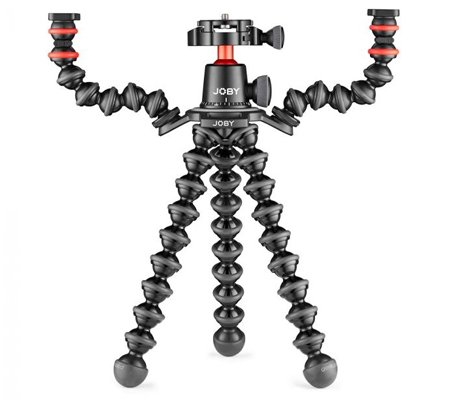 Joby GorillaPod 3K Mini-Tripod + Upgrade Kit + Arm Kit