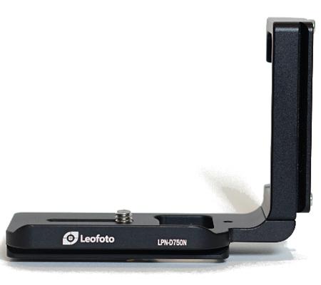 Leofoto L-Plate LPN-D750N for Nikon D750