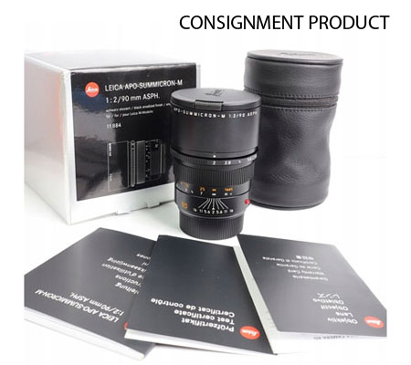 :::USED::: Leica Summicron-M 90mm f/2.0 ASPH APO (11884) (Excellent-959) CONSIGNMENT