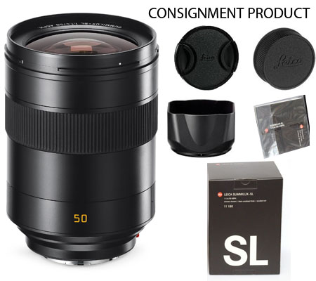 :::USED::: Leica Summilux-SL 50mm f/1.4 ASPH (11180) (Mint-727) CONSIGNMENT