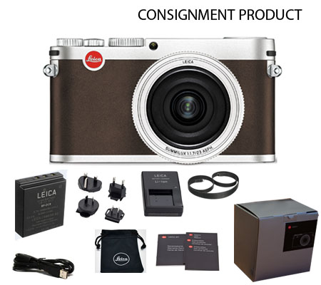 :::USED:::Leica X (Typ 113) Digital Compact Camera Silver (18441) Mint #884 Consignment