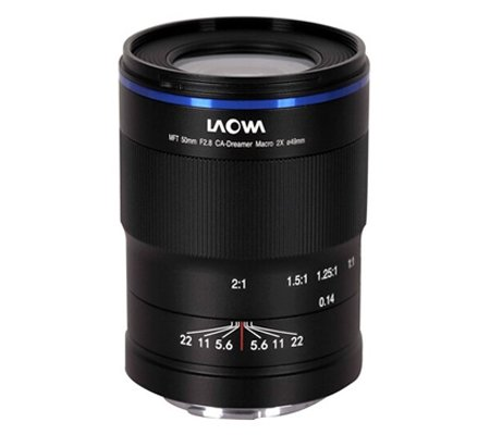 Laowa 50mm f/2.8 for Micro Four Thirds 2X Ultra Macro APO Venus Optics Lens