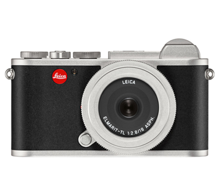Leica CL Elmarit-TL with 18mm F/2.8 ASPH Silver Anodized Finish (19313)
