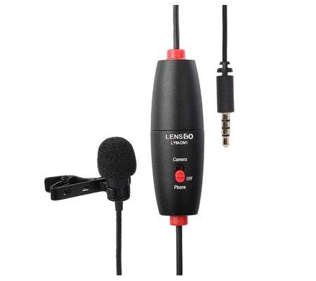 LensGo LYM-DM1 Single Mini Omni-directional Lavalier Condenser Microphone