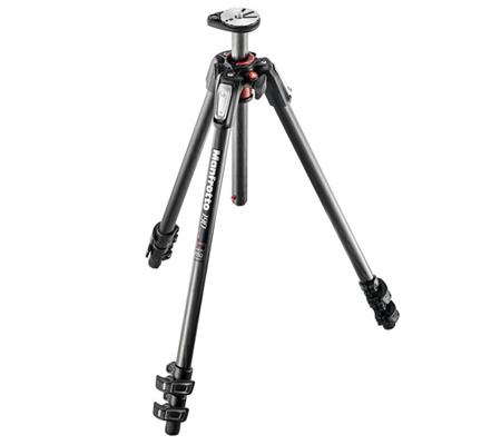 Manfrotto 190 Carbon Fibre 3-Section Camera Tripod MT190CXPRO3