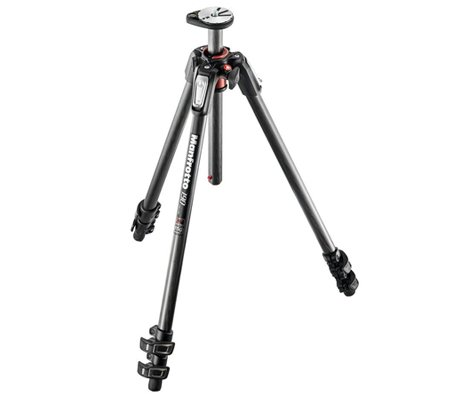 Manfrotto 190 Carbon Fibre 3-Section Camera Tripod MT190CXPRO3