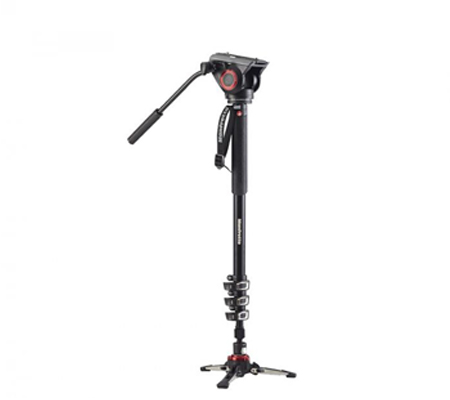 Manfrotto Monopod XPRO With Fluid Video Head MVMXPRO500