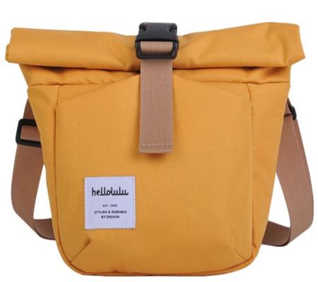 Hellolulu Matt Compact Camera Bag Yellow