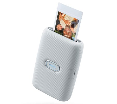 Fujifilm Instax Mini Link Smartphone Printer Ash White