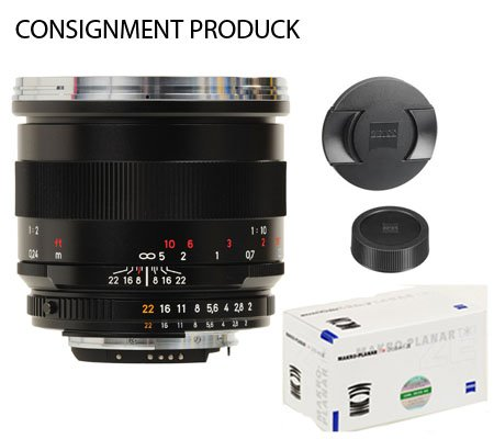 :::USED:::Carl Zeiss For Canon 50mm f/2.0 Makro-Planar T* ZE(MINT-460) Consignment Produck