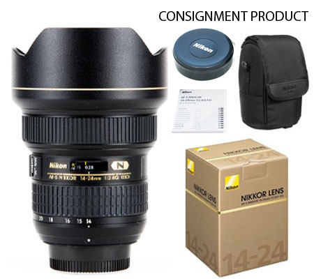 ::: USED ::: Nikon AF-S 14-24mm f/2.8G ED N (Mint-669) CONSIGNMENT