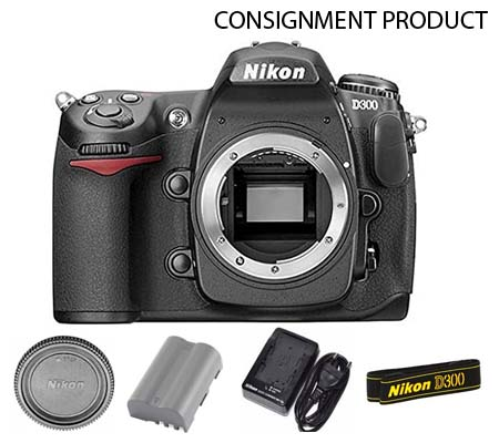 :::USED::: Nikon D300 Body (Excellent) #489 Consignment