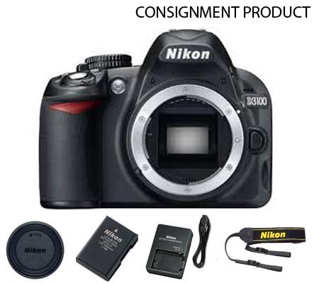 :::USED::: Nikon D3100 Body (Excellent) Kode 389 Consignment