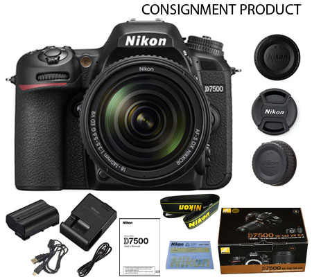 :::USED:::Nikon D7500 kit AF-S DX 18-140mm f/3.5-5.6G ED VR (Exmint) Kode 981/223 Consignment