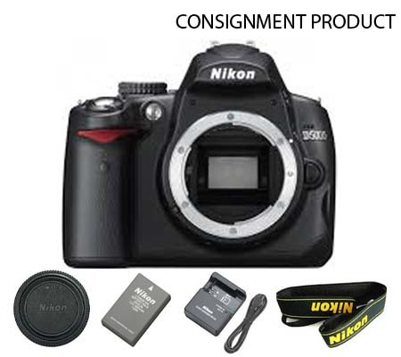 :::USED::: Nikon D5000 Body (Excellent) Kode 548 Consignment