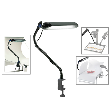 Novoflex Magic Studio Light Fluorescent Panel with Flex Arm