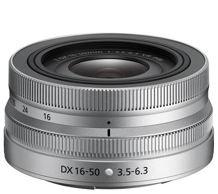 Nikon NIKKOR Z DX 16-50mm f/3.5-6.3 VR Silver