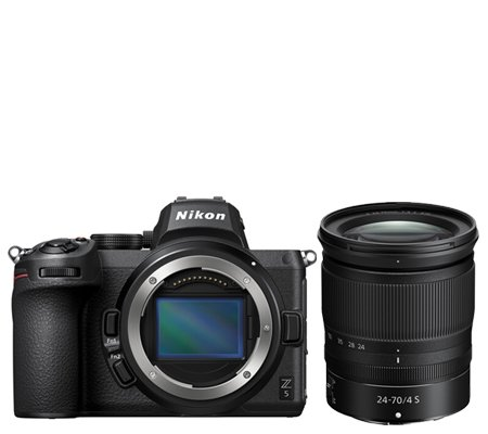 Nikon Z5 kit 24-70mm f/4 S Mirrorless Digital Camera