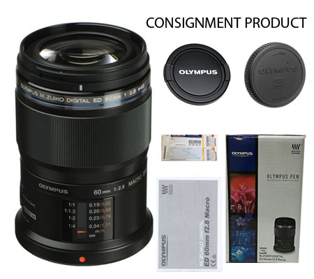 :::USED:::Olympus M.Zuiko Digital ED 60mm f2.8 Macro Exmint # 882 Consignment