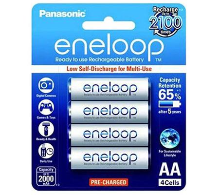 Panasonic Eneloop AA 2000 mAh 4pcs