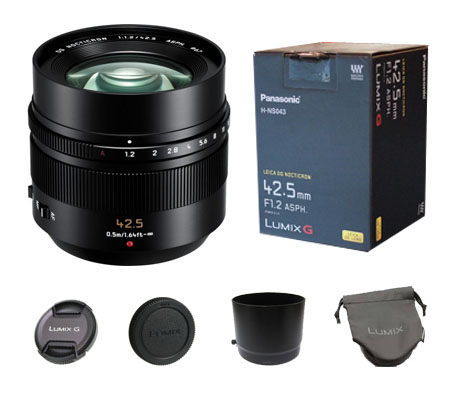 ::: USED ::: Panasonic Leica DG Nocticron 42.5mm F/1.2 ASPH Power O.I.S (Excellent-304)