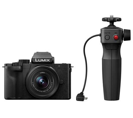 Panasonic Lumix DC-G100 kit 12-32mm f/3.5-5.6 ASPH + Tripod Grip Kit