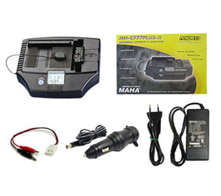 ::: USED ::: Powerex Universal Charger MH-C777 Plus II (Excellent to Mint)