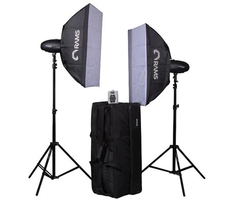 RAMS P50 Kit Studio Lighting