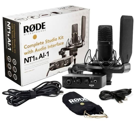 Rode NT1 Kit Microphone with AI-1 Audio Interface