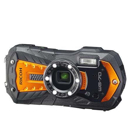 Ricoh WG-70 Waterproof Digital Camera Orange