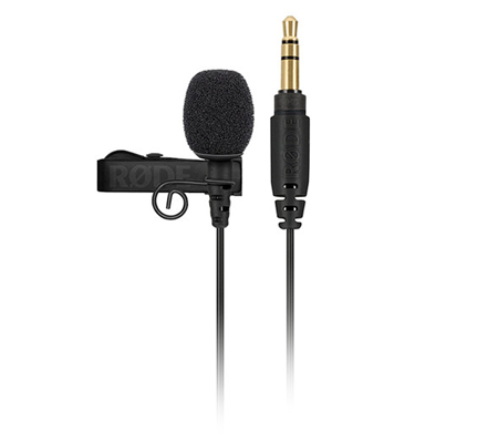 Rode Lavalier GO Omnidirectional Microphone for Wireless GO Systems Black