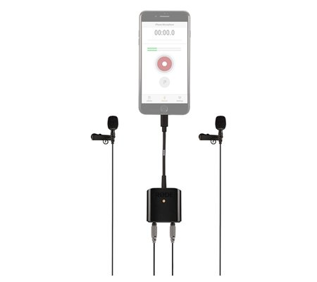 Rode SC6-L Mobile Interview Kit 2 Lavalier Microphones for iOS Devices