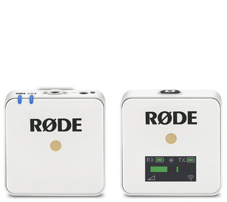 Rode Wireless GO Compact Wireless Audio Microphone System White