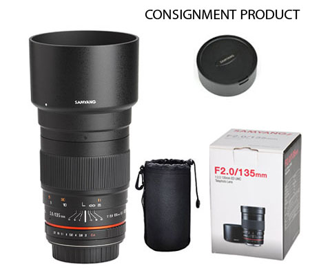 ::: USED ::: Samyang for Sony E-mount 135mm F/2.0 ED UMC (Mint-505) CONSIGNMENT