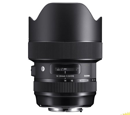 Sigma for Canon EF 14-24mm f/2.8 DG HSM (A) Art Lens