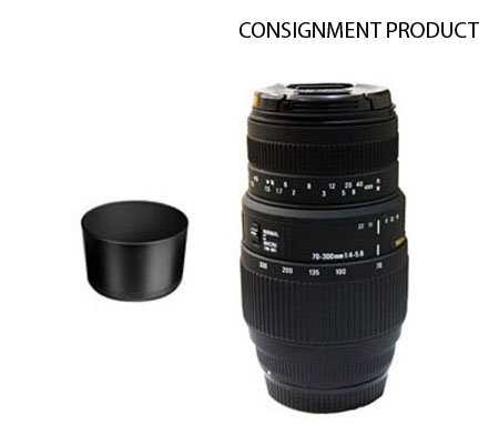 ::: USED ::: Sigma for Nikon 70-300mm F/4-5.6 DG Macro (Excellent To Mint-862) CONSIGNMENT