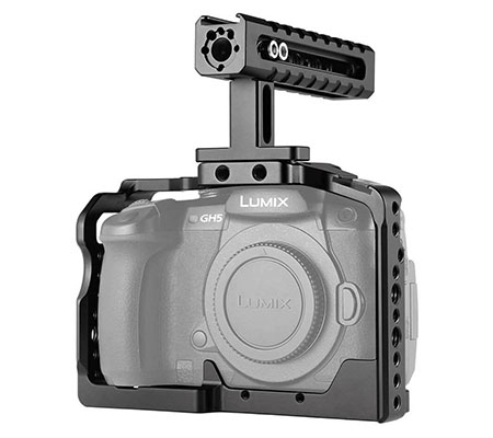 SmallRig Cage for Panasonic GH5/GH5S with Top Handle 2050