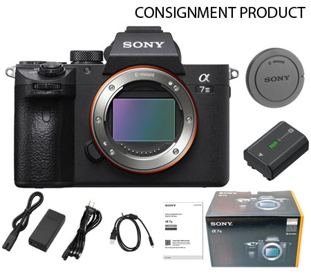 :::USED::: Sony Alpha A7 III Body Exmint Kode 539 Consignment