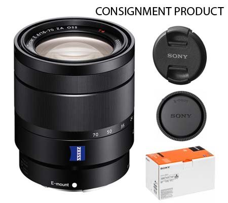 :::USED:::Sony E 16-70mm f/4 ZA OSS Vario-Tessar T* (Excellent) #738 Consignment
