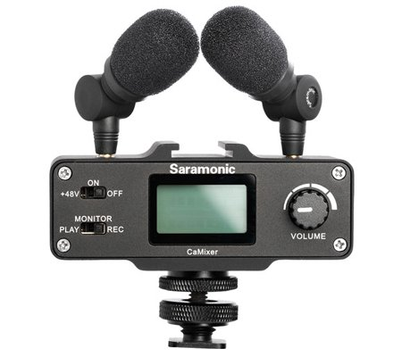 Saramonic SR-XM1 3.5mm TRS Omnidirectional Mic for DSLR Cameras and Camcorders